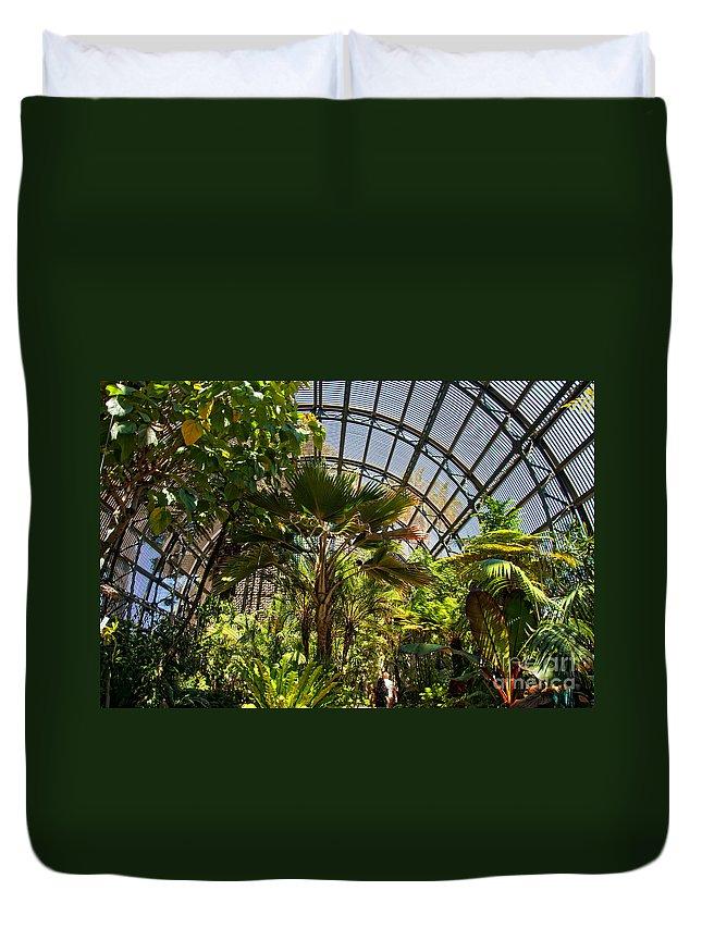 Balboa Park Duvet Cover featuring the digital art Balboa Park San Diego by Carol Ailles