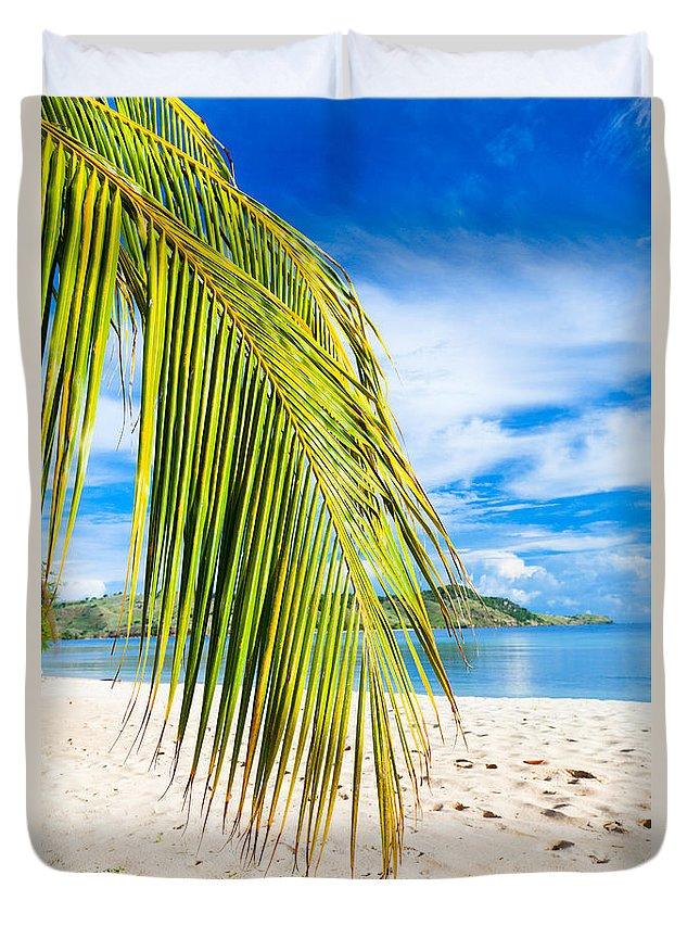 Beach Duvet Cover featuring the photograph Beach by MotHaiBaPhoto Prints