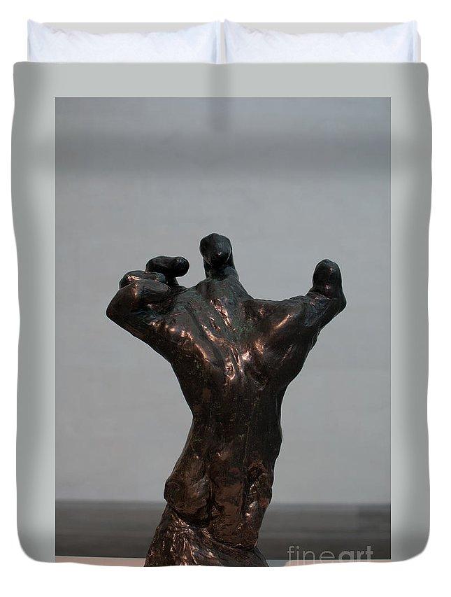 California Duvet Cover featuring the digital art Legion Of Honor Museum San Francisco by Carol Ailles