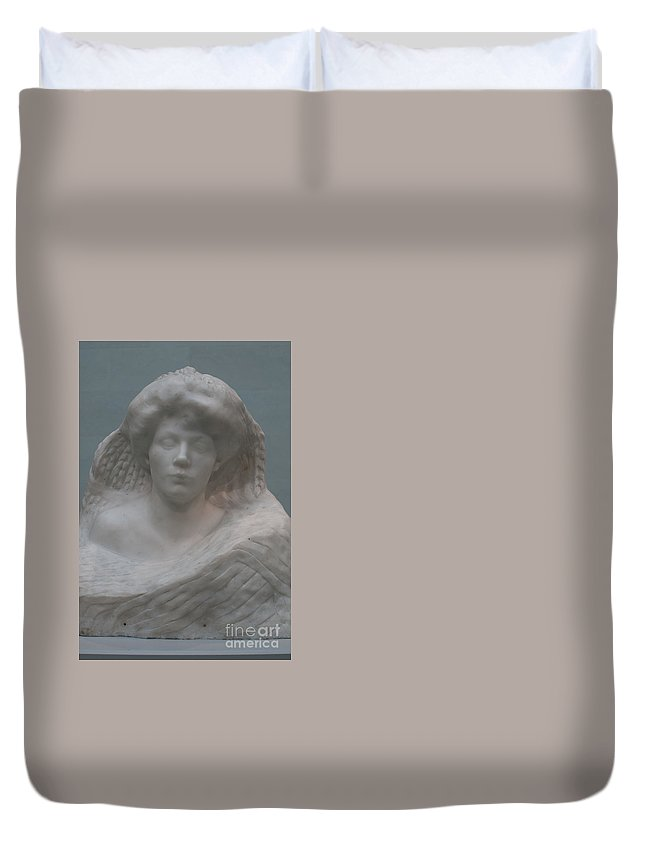 California Duvet Cover featuring the digital art Legion Of Honor Museum San Francisco by Carol Ailles