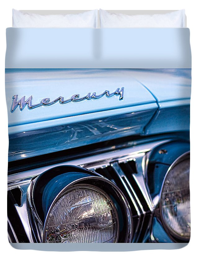 1964 Duvet Cover featuring the photograph 1964 Mercury Park Lane by Gordon Dean II