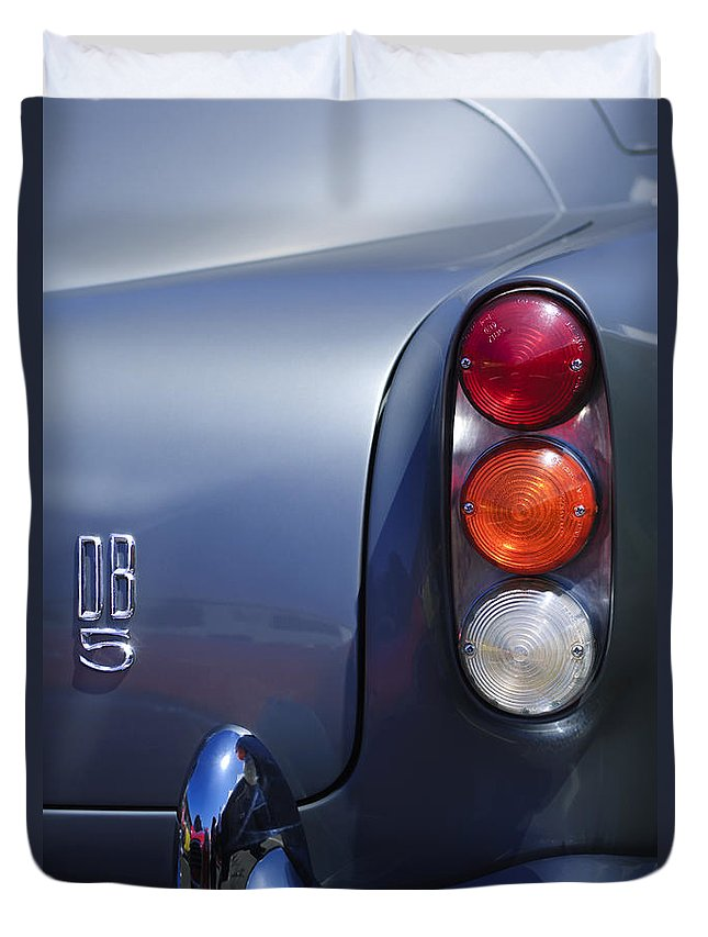 1965 Aston Martin Db5 Coupe Rhd Tail Light Duvet Cover For Sale By Jill Reger