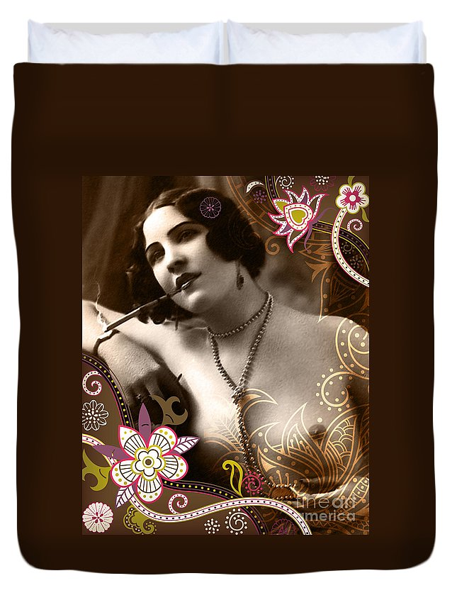 Duvet Cover featuring the photograph Goddess by Chris Andruskiewicz
