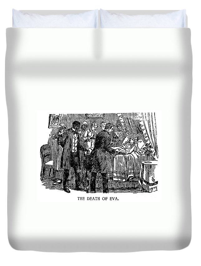 19th Century Duvet Cover featuring the photograph Uncle Toms Cabin by Granger