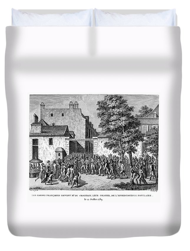 1789 Duvet Cover featuring the photograph French Revolution, 1789 by Granger