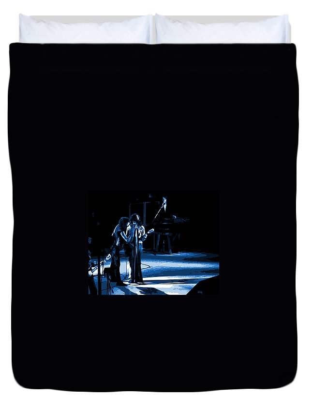 Aerosmith Duvet Cover featuring the photograph Aerosmith In Spokane 12a by Ben Upham