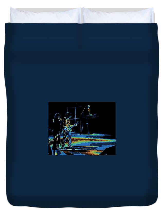Aerosmith Duvet Cover featuring the photograph Aerosmith In Spokane 13c by Ben Upham