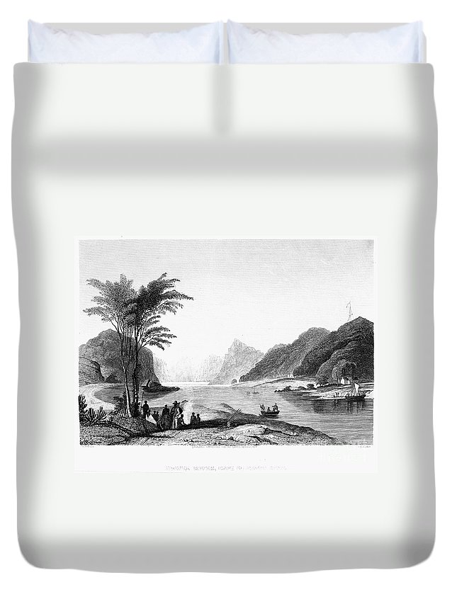 19th Century Duvet Cover featuring the photograph Africa: Cape Of Good Hope by Granger