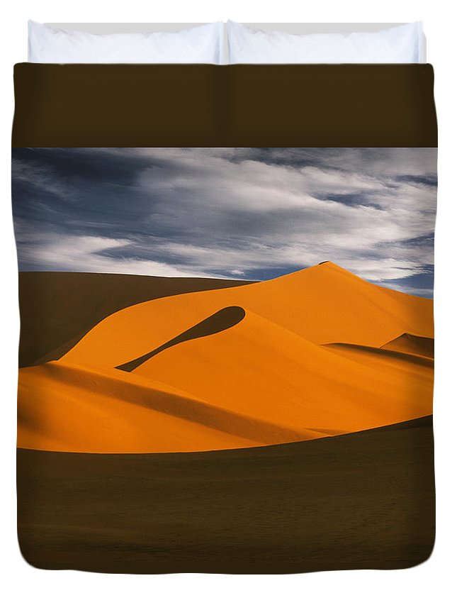 Light Duvet Cover featuring the photograph African Dunes by Darwin Wiggett