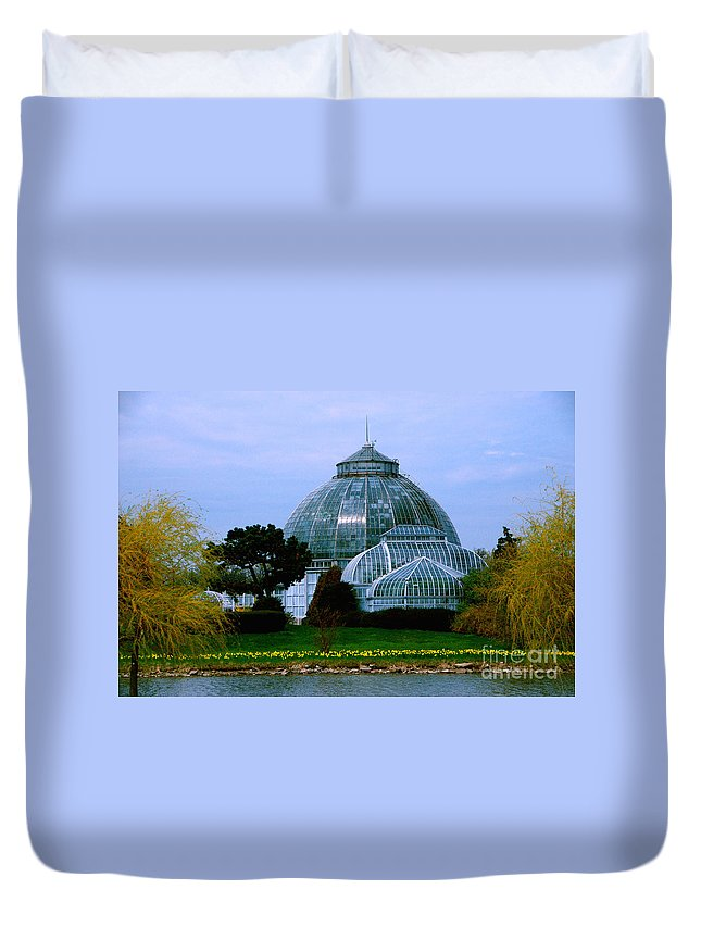 Anna Scripps Whitcomb Conservatory Duvet Cover featuring the photograph Anna Scripps Whitcomb Conservatory by Grace Grogan