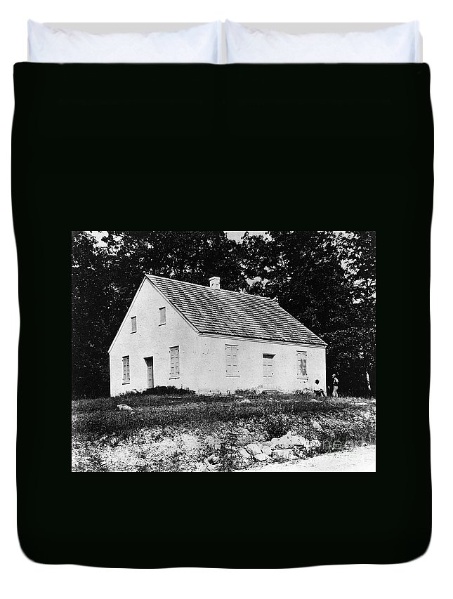 1862 Duvet Cover featuring the photograph Antietam: Dunker Church by Granger