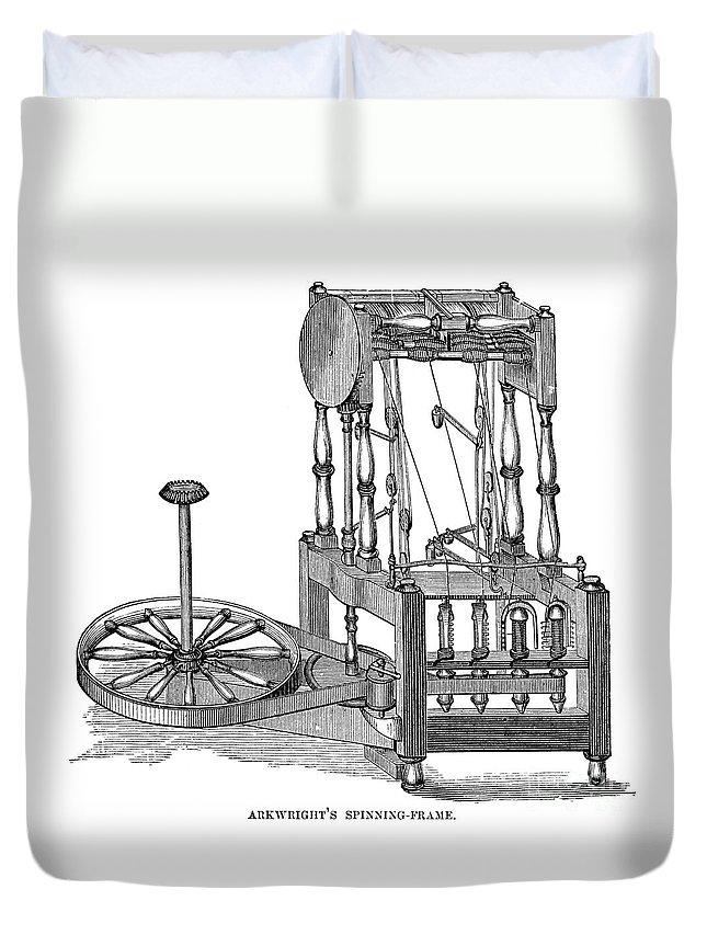 Arkwright: Spinning Frame Duvet Cover for Sale by Granger