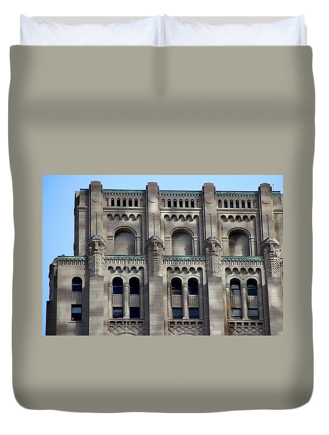 Toronto Duvet Cover featuring the photograph Art Deco 5 by Andrew Fare