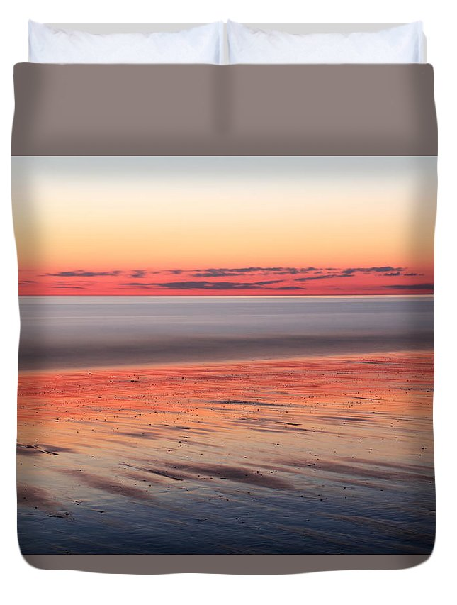 Dawn Duvet Cover featuring the photograph Atlantic Dawn by Roupen Baker