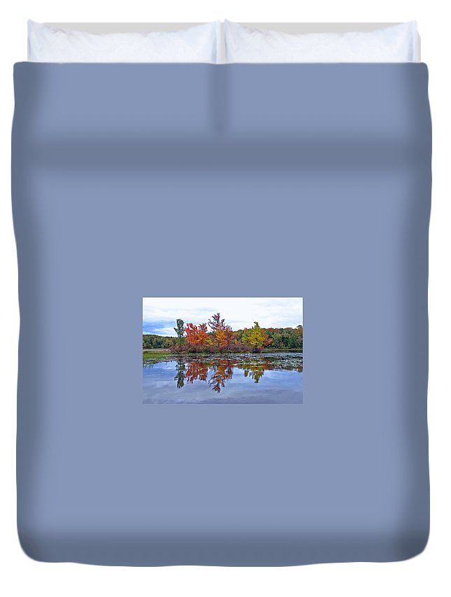 Autumn Duvet Cover featuring the photograph Autumn Diversity by David Rucker