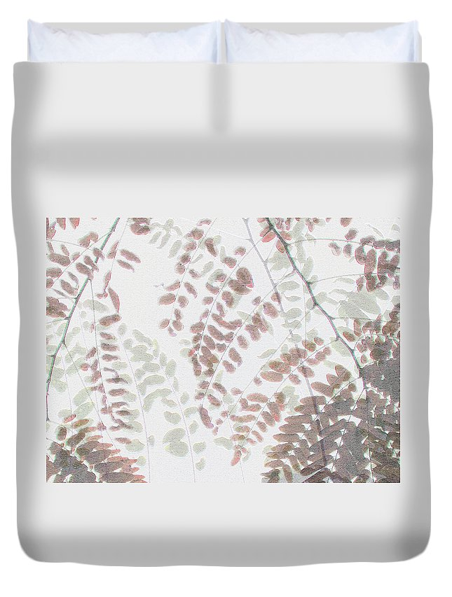 Autumn Duvet Cover featuring the photograph Autumn Meeting by Eena Bo