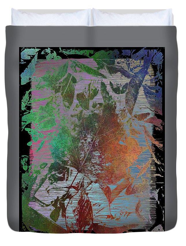 Autumn Duvet Cover featuring the digital art Autumns Splendor by Tim Allen