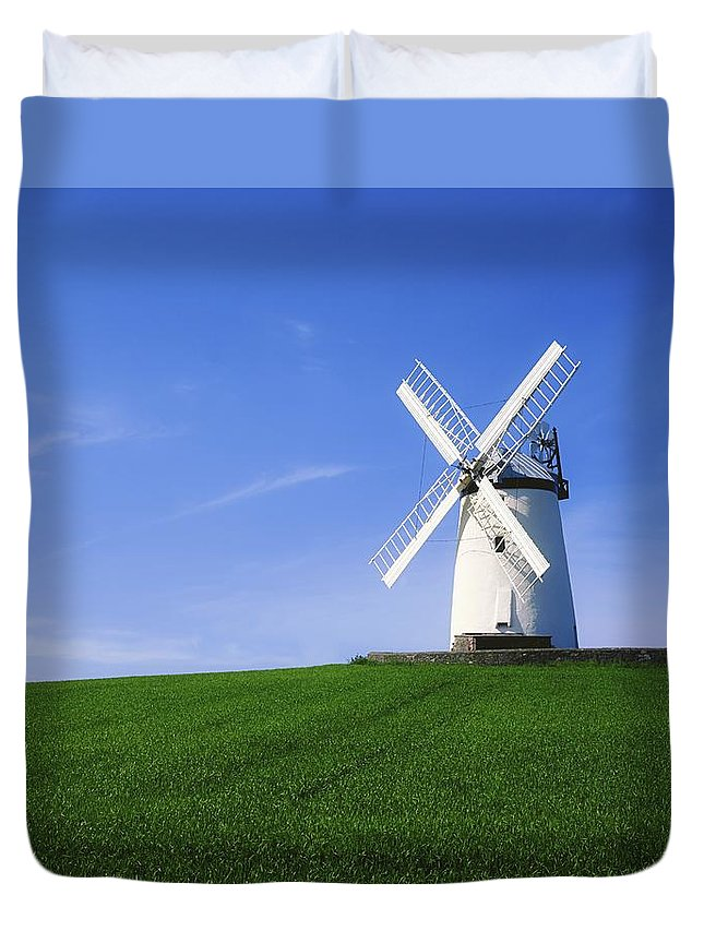 Outdoors Duvet Cover featuring the photograph Ballycopeland Windmill, Millisle by The Irish Image Collection