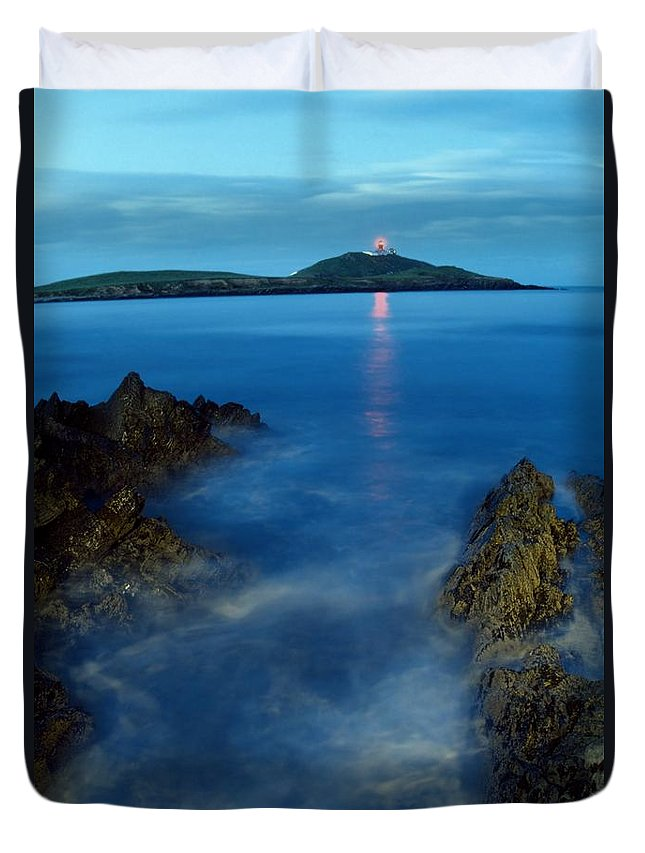 Ballycotton Duvet Cover featuring the photograph Ballycotton, County Cork, Ireland by Richard Cummins