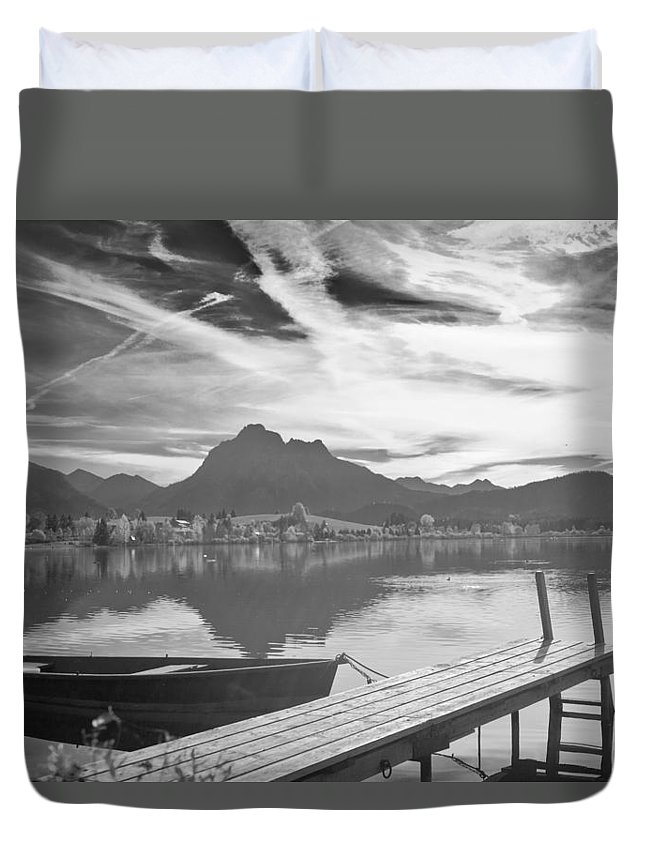 Bavaria Duvet Cover featuring the photograph Bavaria by Ralf Kaiser