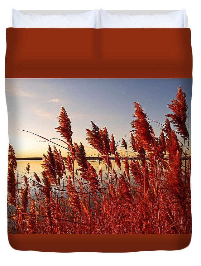 North America Duvet Cover featuring the photograph Beautiful Morning ... by Juergen Weiss