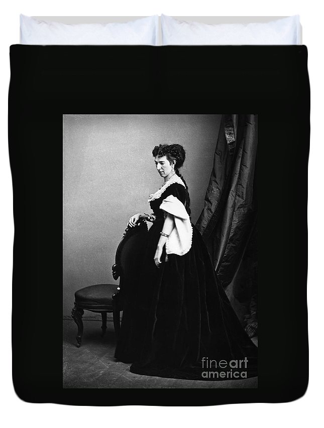 1860s Duvet Cover featuring the photograph Belle Boyd (1844-1900) by Granger