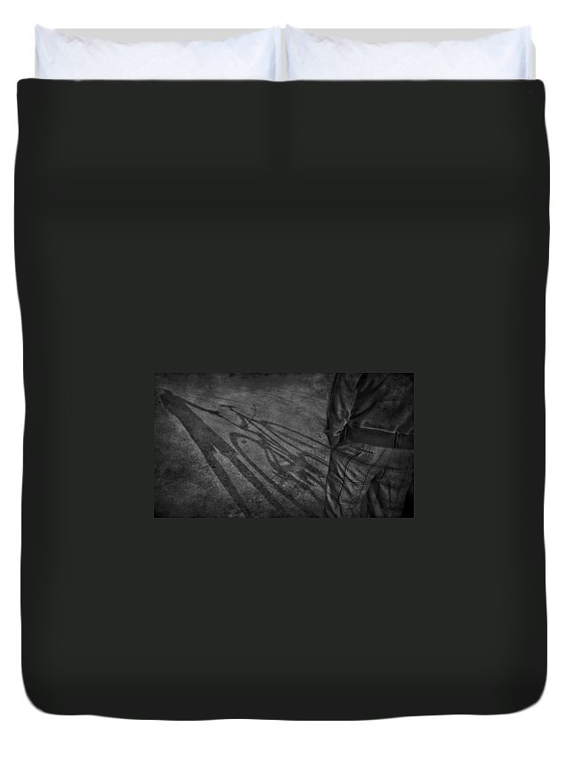 Jerry Cordeiro Duvet Cover featuring the photograph Bike Ride Two by The Artist Project