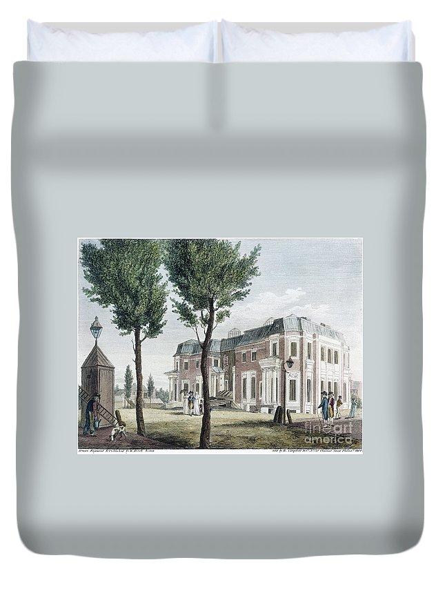 1800 Duvet Cover featuring the photograph Birch: Philadelphia, 1800 by Granger
