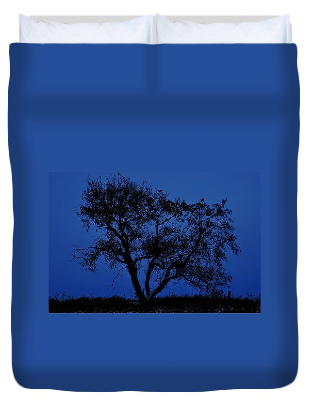 Street Photography Photographs Framed Prints Photographs Framed Prints Duvet Cover featuring the photograph Blue Moon by The Artist Project