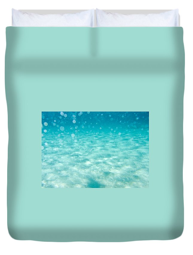 Air Duvet Cover featuring the photograph Blue by Stelios Kleanthous