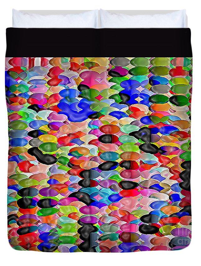 Bluebird Duvet Cover featuring the digital art Bluebird Lost by Dee Flouton
