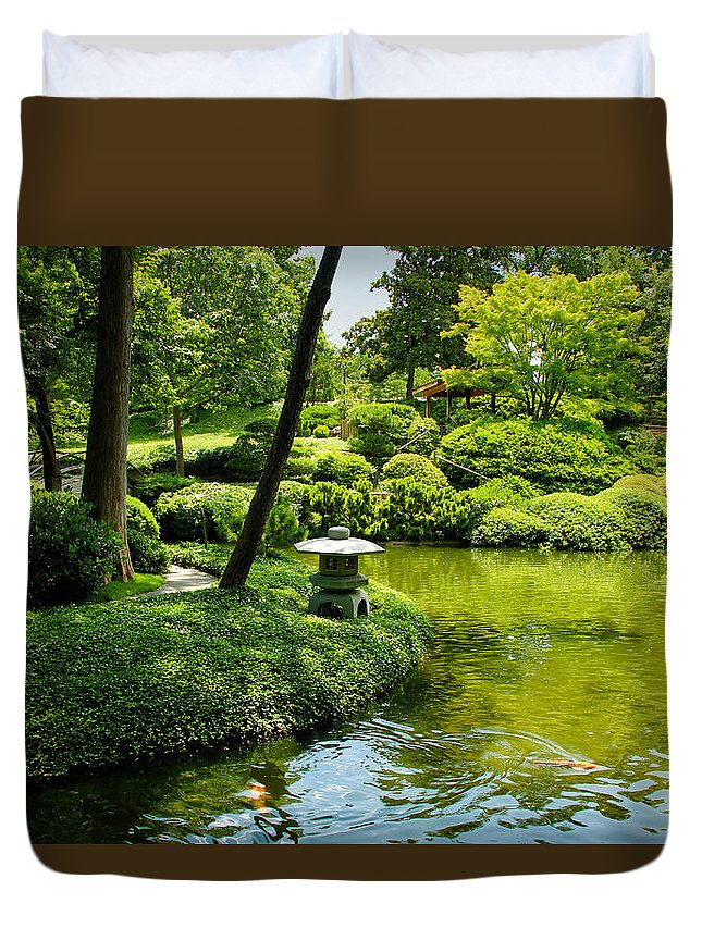 Calming Waters Duvet Cover featuring the photograph Calming Waters by Rachel Cohen
