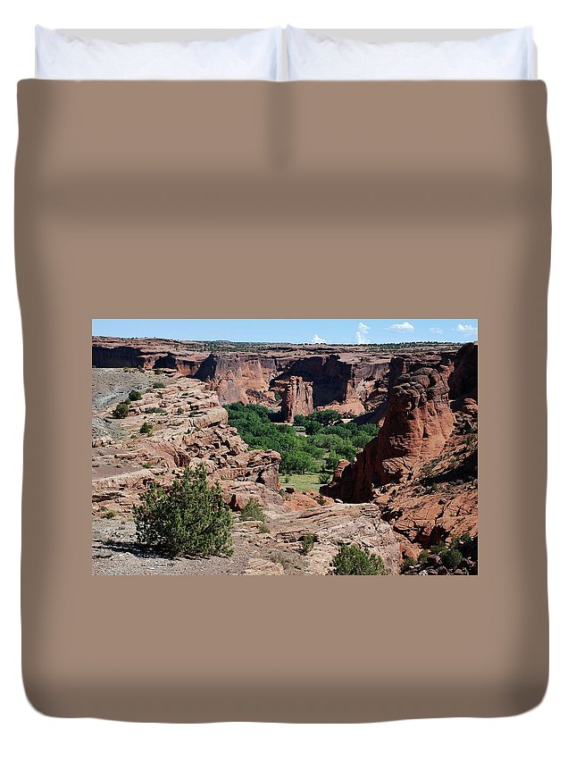 Arizona Duvet Cover featuring the photograph Canyon De Chelly by Dany Lison