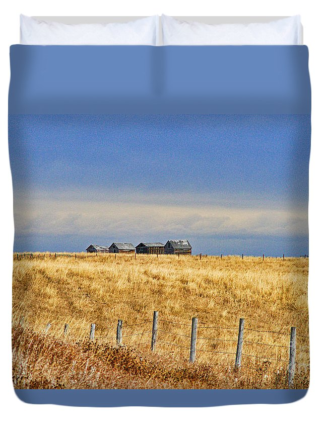 Landscapes Duvet Cover featuring the photograph Casc8479-11 by Randy Harris