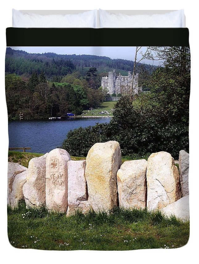 Architecture Duvet Cover featuring the photograph Castlewellan Castle, Castlewellan, Co by The Irish Image Collection