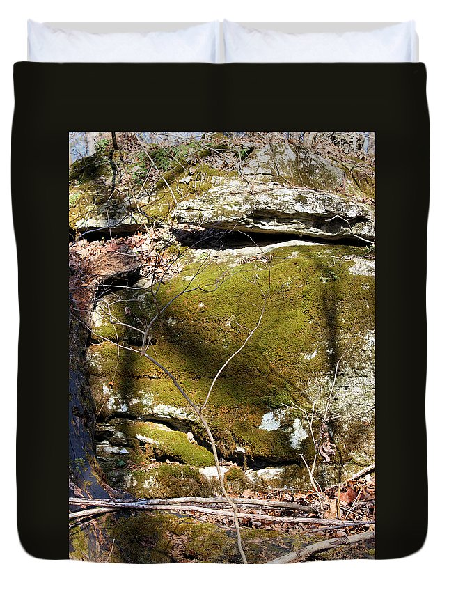Boulder Duvet Cover featuring the photograph Cherokee Face by Kristin Elmquist