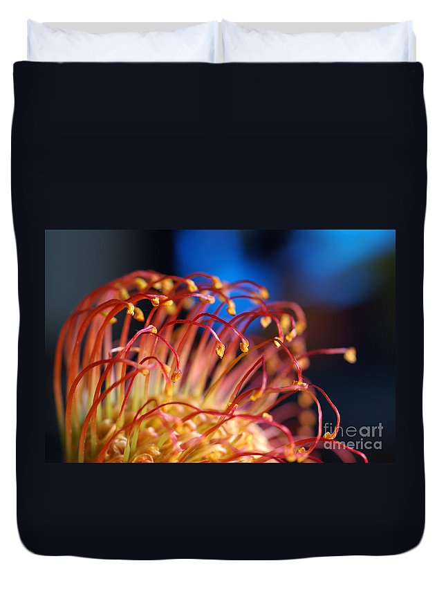 Chinese Flower Duvet Cover featuring the photograph Chinese Flower 1 by Micah May