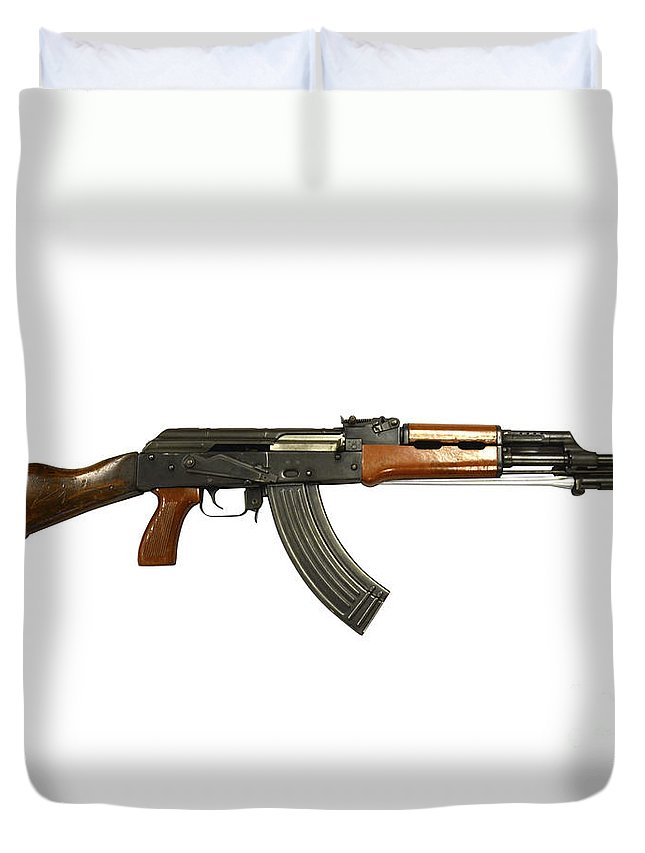 Chinese Type 56 Assault Rifle Duvet Cover