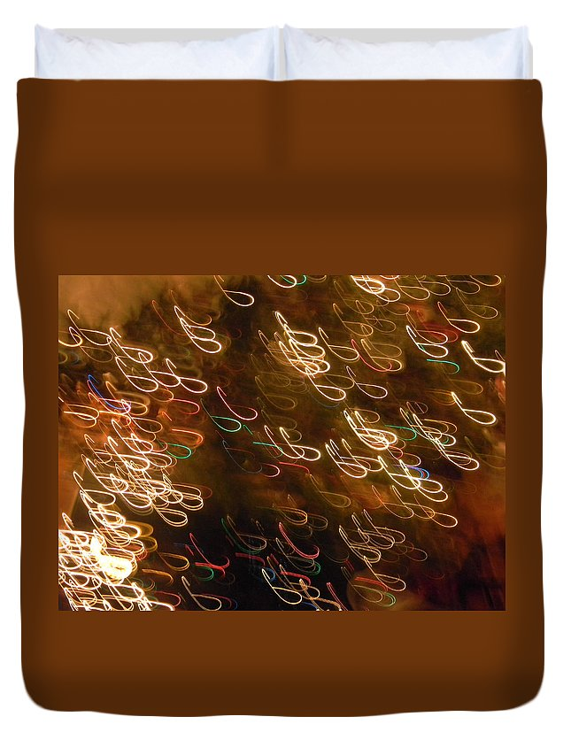 Christmas Duvet Cover featuring the photograph Christmas Card - The Manger by Marwan George Khoury