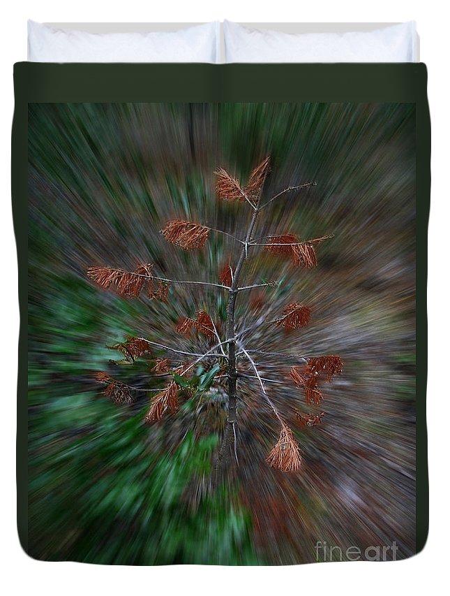 Christmas Duvet Cover featuring the photograph Christmas Vertigo by Peter Piatt