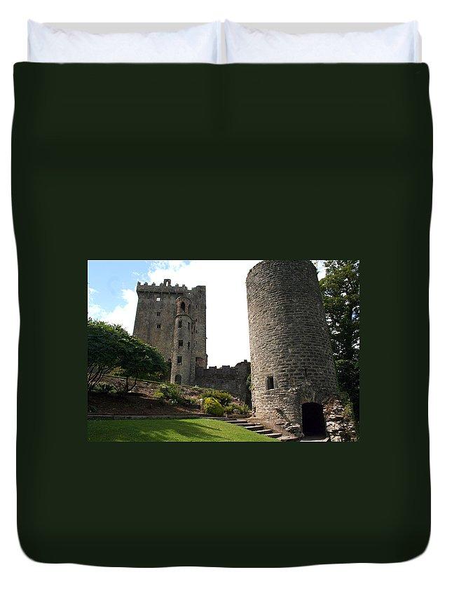 Blarney Castle Duvet Cover featuring the photograph City 0023 by Carol Ann Thomas