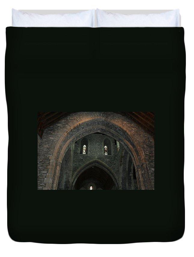 Ireland Duvet Cover featuring the photograph City 0031 by Carol Ann Thomas