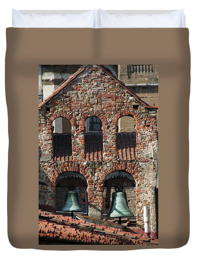 City Duvet Cover featuring the photograph City 0032 by Carol Ann Thomas