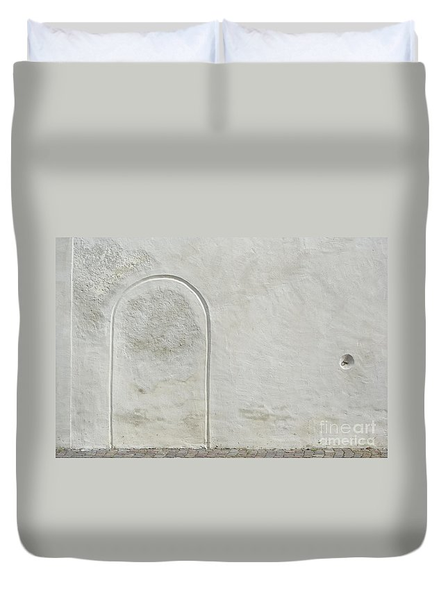 Alto Adige Duvet Cover featuring the photograph Closed by Alex Rowbotham