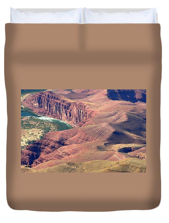 Colorado River Duvet Cover featuring the photograph Colorado River Iv by Julie Niemela