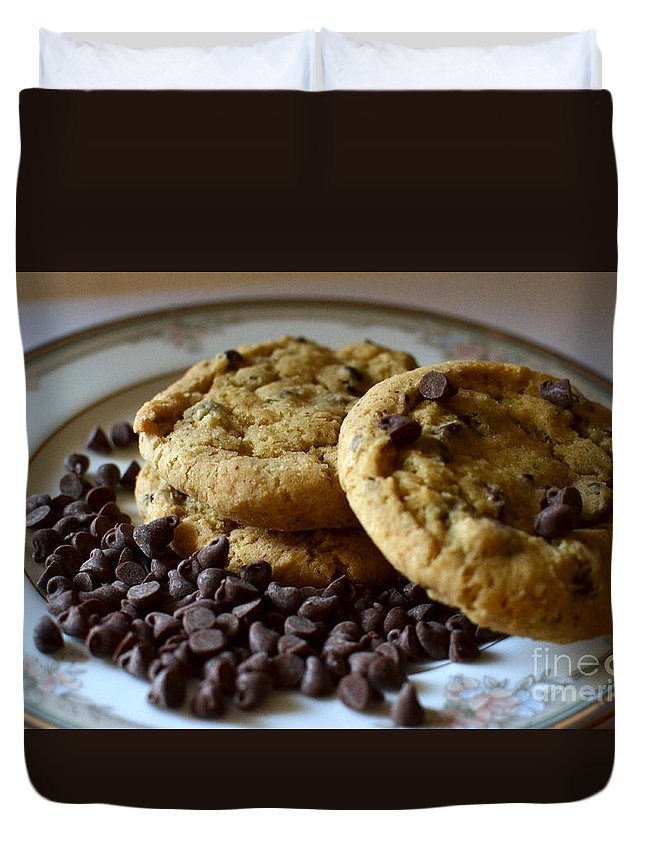 Cookie Duvet Cover featuring the photograph Cookie Time by Dyana Rzentkowski