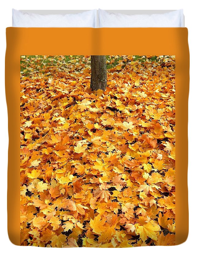 Autumn Duvet Cover featuring the photograph Country Color 17 by Will Borden