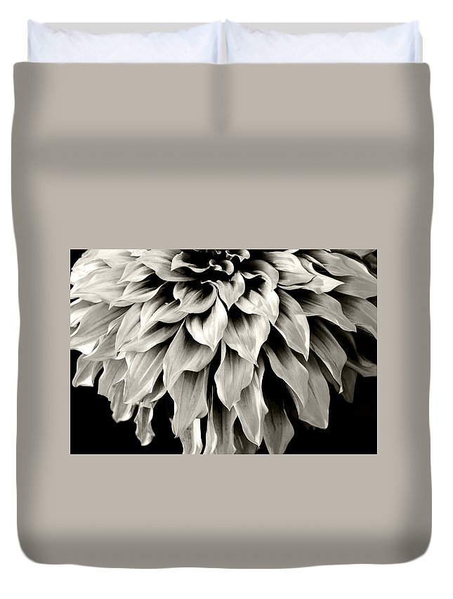 Flowers Duvet Cover featuring the photograph Dahlia Flower by Sumit Mehndiratta