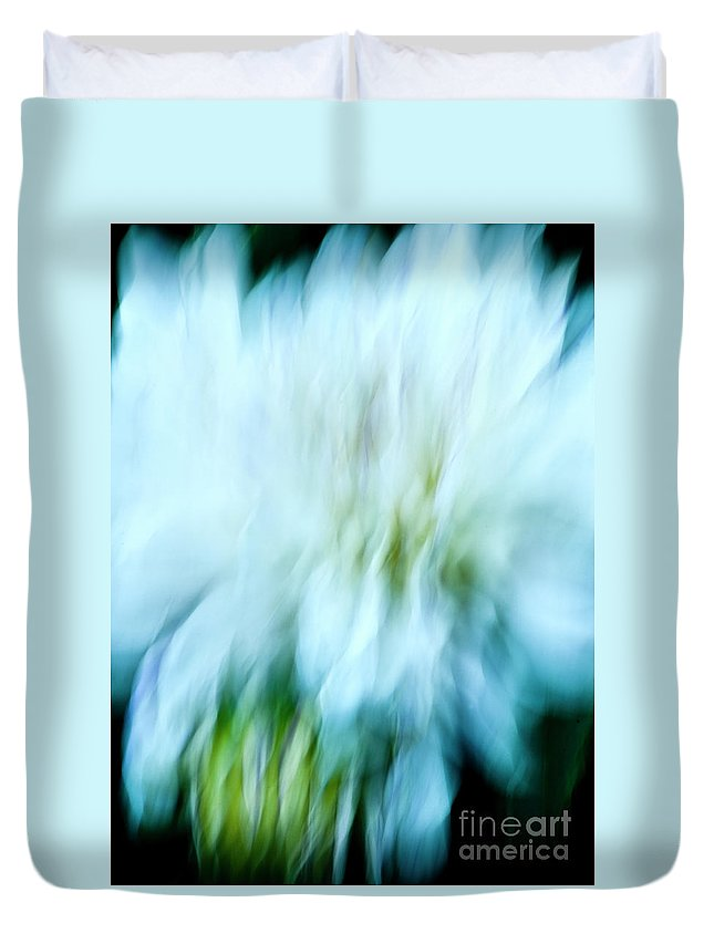 Blurred Motion Duvet Cover featuring the photograph Dancing Angels - 2 by Paul W Faust - Impressions of Light
