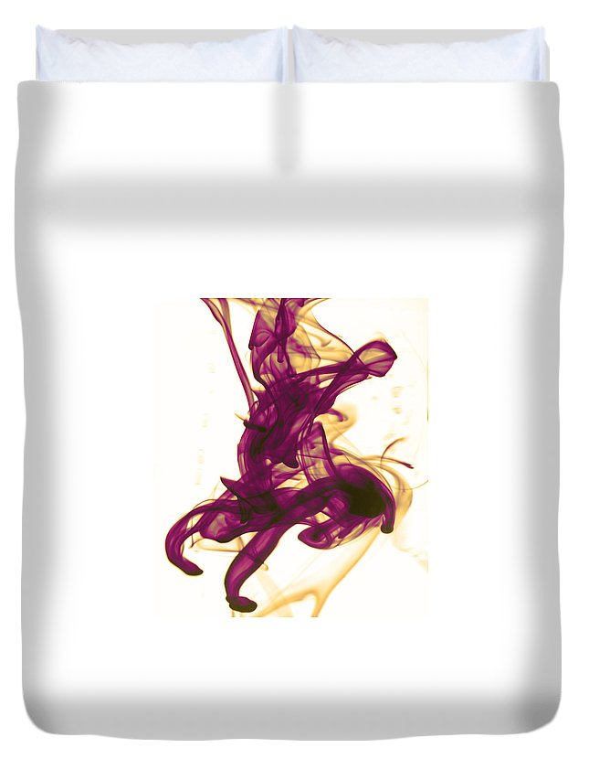 Ink Duvet Cover featuring the photograph Divine Serenity by Sumit Mehndiratta